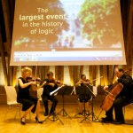 "World premiere of ""Tribute to Kurt Gödel"" performed by Adamas string quartet"